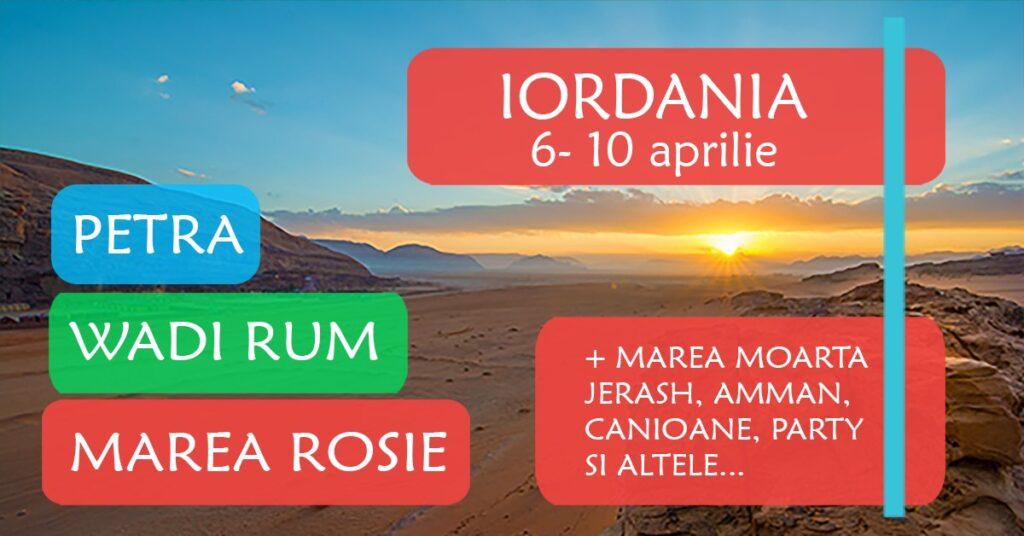 excursie iordania